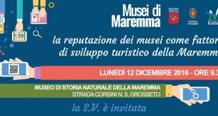 evento 12 dic - Musei di Maremma