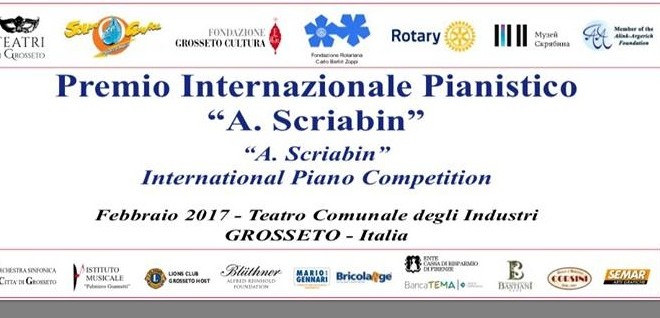 ... industri premio internazionale pianistico a scriabin 2017 sarà un